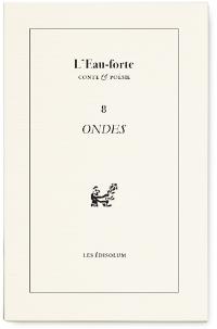 Photo : L'Eau-forte n°8 (couverture)'