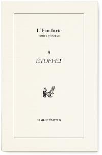 Photo : L'Eau-forte n°9 (couverture)'
